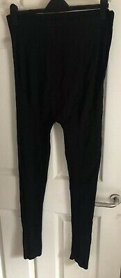 New Look Maternity Leggings, Size 12, Over the Bump, Black