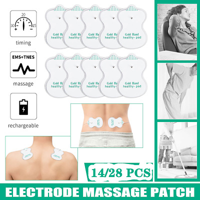 14X 28X TENS Machine Massagers Replacement Electrode Pads Self-Adhesive 5cm*5cm