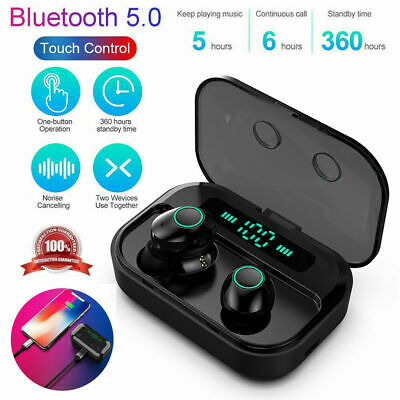 2019 Bluetooth 5.0 Headset TWS Wireless Earphones Mini Earbuds Stereo Headphones