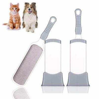 Double Sided Self-Cleaning Pet Dog Cat Hair Fur Fluff Remover, Lint Brush Tool