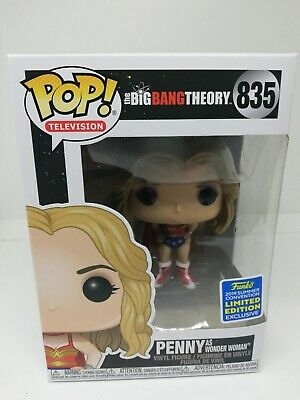 Funko Pop! Penny Wonder Woman SDCC 2019 The Big Bang Theory IN STOCK