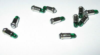 Replacement Lamps Micro Lamps 2, 8x4mm - Green - 10 Pcs New