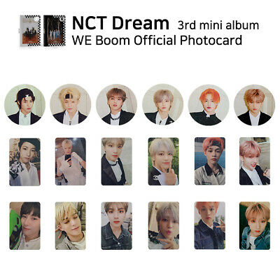 NCT DREAM - 3rd mini album : WE BOOM Official Photocard - Member & SET