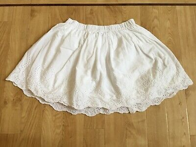 GAP White Broderie Anglaise Skirt Age 10yrs