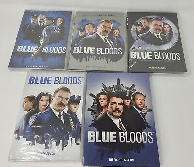 Blue Bloods Seasons 1-5 DVD Bundle. Complete Series 1 2 3 4 5, All New Sealed!