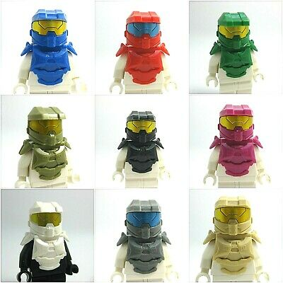 Custom SPARTAN Armor Pack for Lego Minifigures -Pick Color- NEW -CAC-