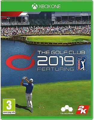 The Golf Club 2019 Xbox One Game New Factory Sealed UK Pal