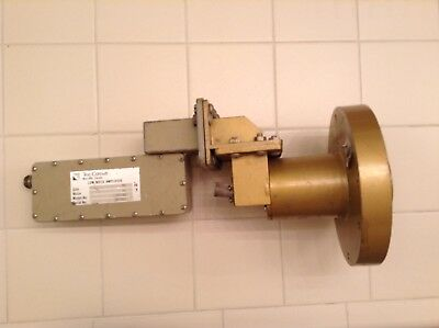 Vintage Tee-Comm Satellite LNA Low Noise Amplifier with Boman Feed Horn