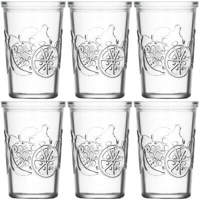 Promobo - Lot De 6 Verre Gobelet A Cocktail Eau Collection Frutta Design Luxe 20