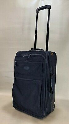 "Kirkland Signature 22"" Upright Expandable Wheeled Carry On Suitcase Black"