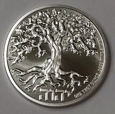 2019 Niue Tree of Life Silver Coin 1 oz. Limited Quantity From New Zealand Mint!