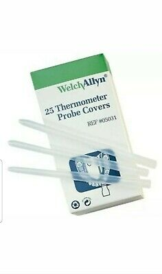 Welch Allyn Suretemp Thermometer Probe Covers Box Of 25  #05031
