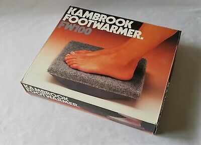 Vintage C1980'S Kambrook Footwarmer - Still Like New In Box - Fw100