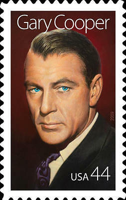 2009 44c Gary Cooper, Legends of Hollywood Scott 4421 Mint F/VF NH