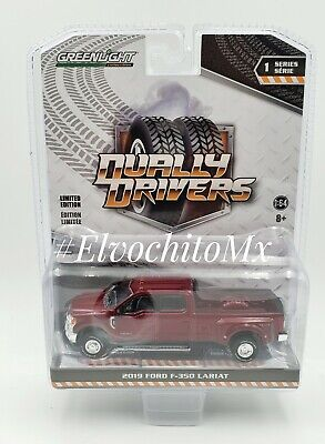 Greenlight Dually Drivers Series 1 2019 Ford F-350 King Ranch In Stock Now