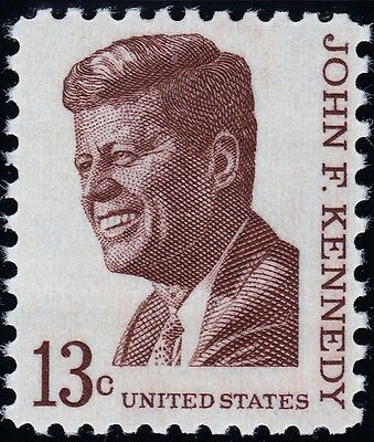 1967 13c John F. Kennedy, President Scott 1287 Mint F/VF NH