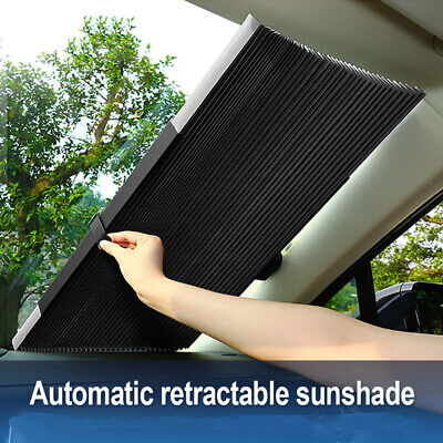 Retractable Car Windshield Sun Shade Visor Folding Auto Block Cover Front WinZB