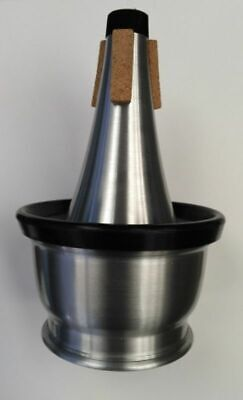 Cup Mute for Trumpet or Cornet...Light weight Aluminium body.. Brand New