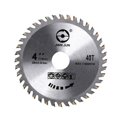 Saw Blade Disc for Angle Grinder 110mm TCT Wood Cutting Discs Circular NEW