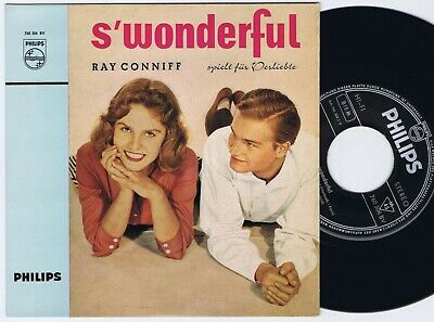 RAY CONNIFF & SINGERS Young At Heart Dutch EP 45PS 196os