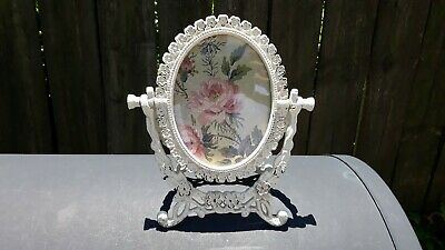 Vintage Victorian Style Cast Iron Picture Frame Swivel Stand
