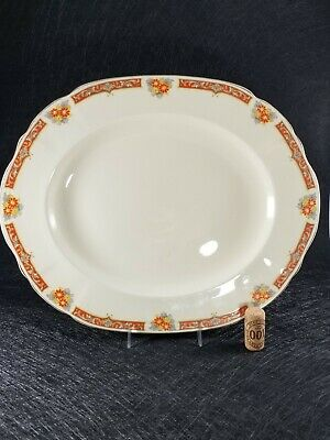 Vintage From 1930' Alfred Meakin Royal Marigold Fine Bone China Large Oval...