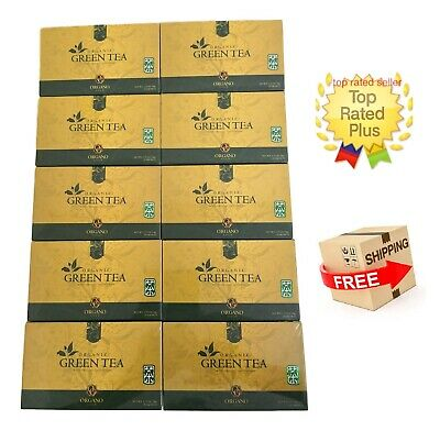 10 Cajas Organo Gold Green Tea With Ganoderma Lucidum - Expiry 02/2021 Tax Free
