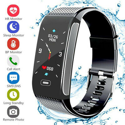 Fitness Tracker Orologio Smartwatch Band Sport frequenza Cardiofrequenzimetro