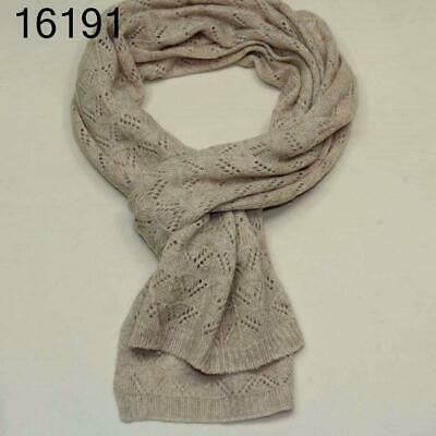 New Women Men Warm Wool Knitting Hollow Scarf Worsted Wrap Shawl Scarves 16191