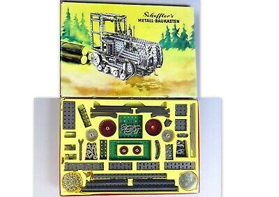 "SCHEFFLER Vintage years 60's, "" Metal Construction Kit"" n. 4, Manual, very good"