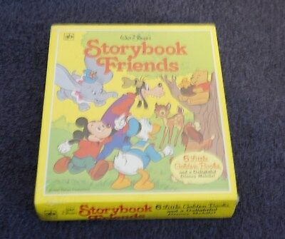 Walt Disney Storybook Friend 6 Little Golden books