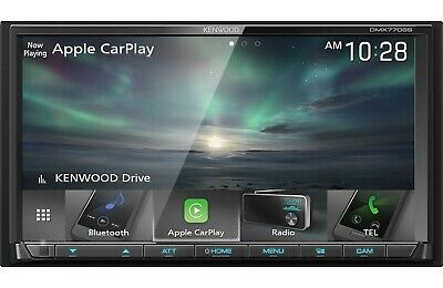 New Kenwood DMX7706S 2 DIN Media Player Android Auto CarPlay Bluetooth SiriusXM