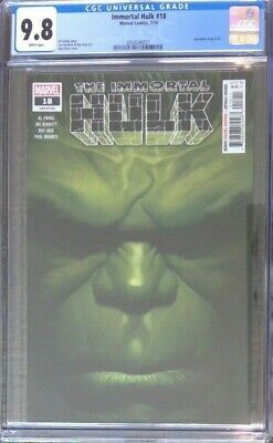 Immortal Hulk #18__CGC 9.8__1st Red Harpy and New Abomination - First print