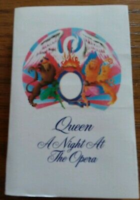 Queen - A Night At The Opera 1975 Cassette
