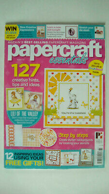 Papercraft Essentials Magazine Issue 161 Magazine only no free gifts
