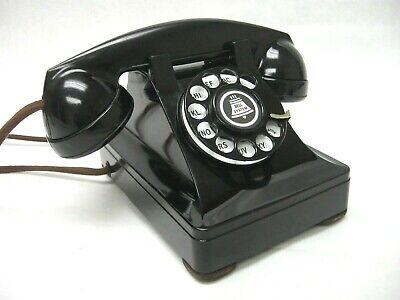 Western Electric 302 Antique Vintage Desk Telephone Restored