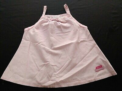 Naartjie Pink Girls Tank Top Shirt Small 4 Years
