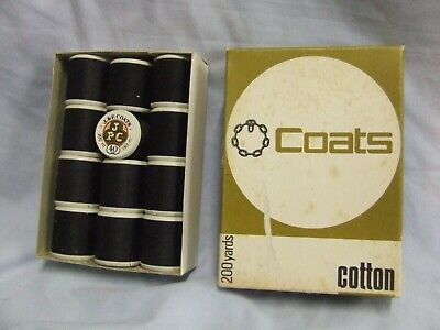 12 Vintage Coats Cottons in Box New