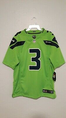 the best attitude bb6c8 073cb NIKE OFFICIAL RUSSELL Wilson Seattle Seahawks Color Rush ...
