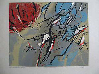 Walter Feldman B.1925 Studied With Kooning +J. Albers Signed Titled Dated L/E
