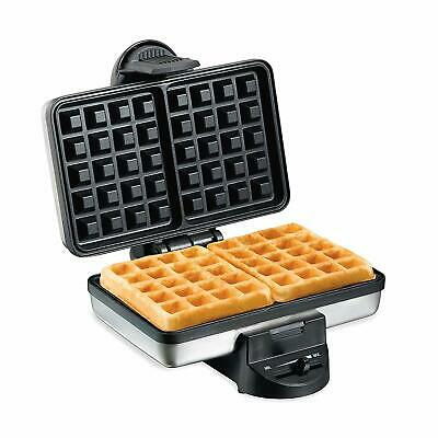 Hamilton Beach 26009 Nonstick Belgian Waffle Maker, Easy To Use, Clean And