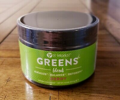 It Works! Greens Blend BERRY Flavor 30 Servings New & Sealed!