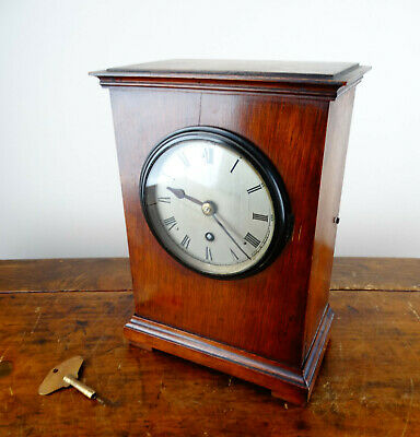 Elliott RAF Fusee Bracket Mantel Clock c1939 WW2 Officers Mess 8 Day Movement