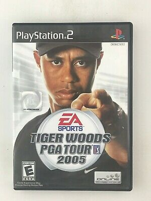 Tiger Woods PGA Tour 2005 - Playstation 2 PS2 Game - Complete & Tested