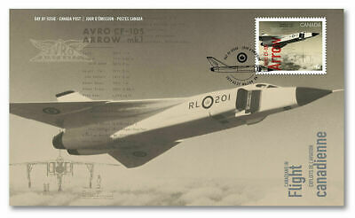 Canada: Avro Arrow CF-105 First Day Cover FDC 2019 *Check out My Store!*