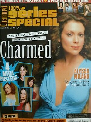 Lot Charmed Photos et Magazines Holly Marie Combs Alyssa Milano Shannen Doherty