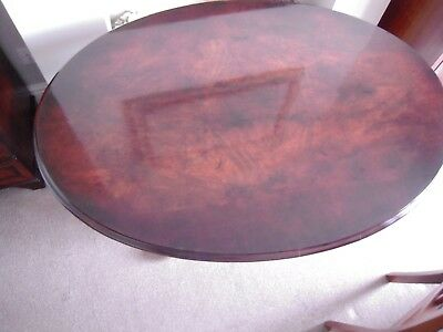 Antique Victorian, oval tilt top,walnut,breakfast,table