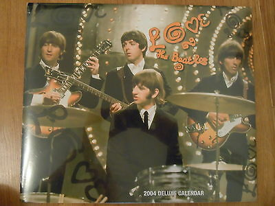 THE BEATLES 2004 DELUXE CALENDAR (New & Shrinkwrapped) collectable
