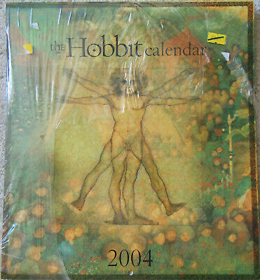 THE HOBBIT CALENDAR 2004 (New & partirally shrinkwrapped) Tolkien collectable