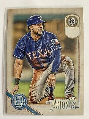 TOPPS GYPSY QUEEN 2018 # 113 Elvis Andrus TEXAS RANGERS Short Print Missing Team